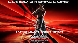 Tekken Tag 2: Kazuya Combo Breakdowns thumbnail