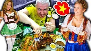 Вьетнам 2019. СЕКРЕТНЫЙ Немецкий ресторан МЯСА И ПИВА в Нячанге! Где поесть, еда, цены Нячанг