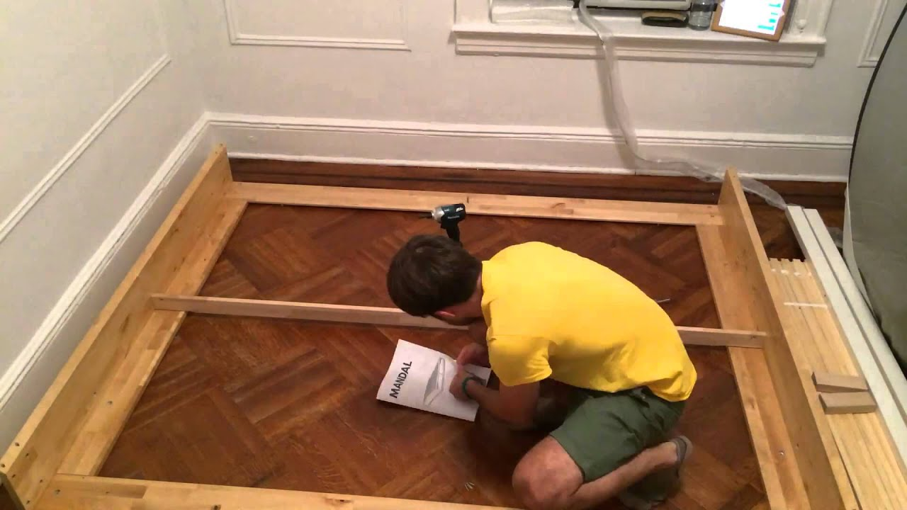 Disassemble Ikea Bed
