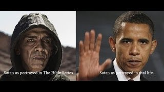 The Antichrist is Barack Obama. Satan From The History Channel