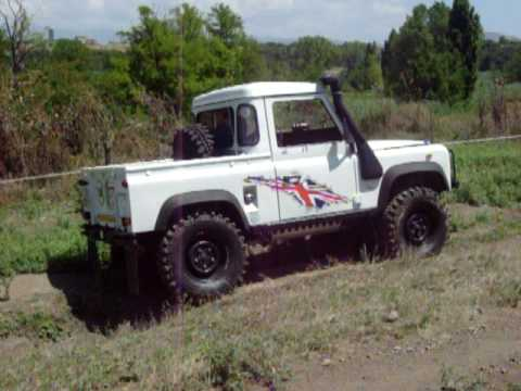 land rover defender pick up youtube. Black Bedroom Furniture Sets. Home Design Ideas