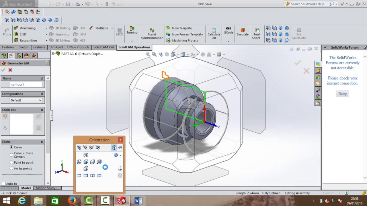 Tutorial CAM Turning Process on Solidcam-Study Group by Rega Kusuma