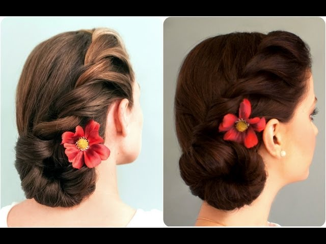 31 Indian Hairstyles For Round Face Girls To Rock With Saree Keep