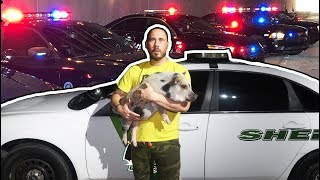 Giving My Pet Pig To Cops 🐷