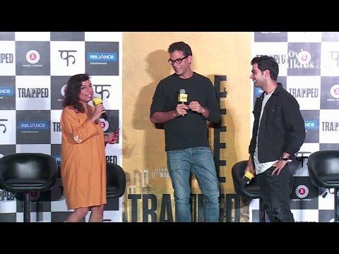 UNCUT- TRAPPED Movie Trailer Launch | Rajkumar Rao | Vikash Bahl | Vikramaditya