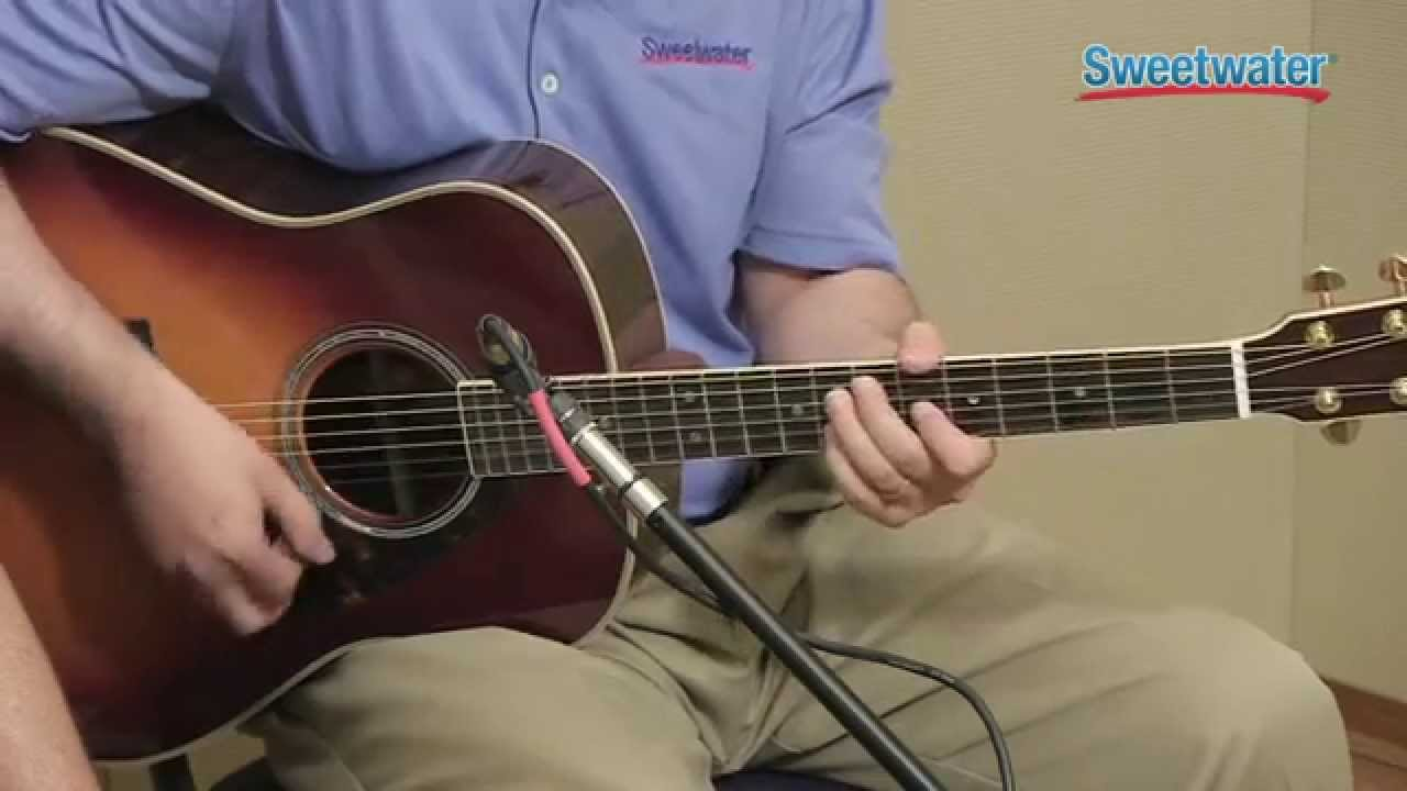 yamaha ll16m acoustic electric guitar demo sweetwater sound youtube. Black Bedroom Furniture Sets. Home Design Ideas