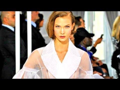 Karlie Kloss – Christian Dior Runway