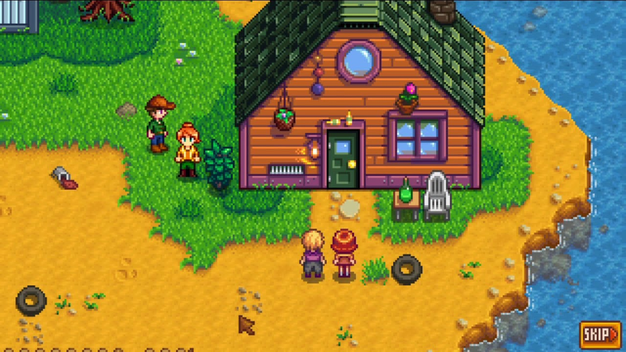 Stardew Valley Pam House Upgrade You