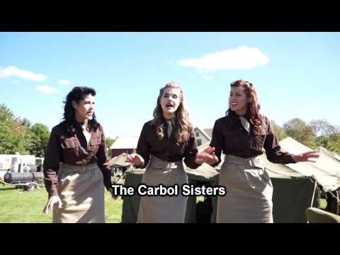 Carbol Sisters Sing at Rockford WW2 Event