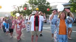 Obon Festival Salt Lake City 2010  Part #4 (Bon Odori Uta)