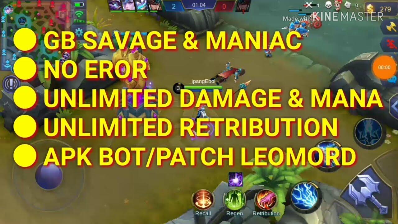Update BOT permanent Mobile legend patch leomord 12 Oct 2018