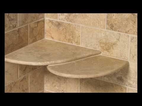 Shower Shelf Insert Ideas For Built In Tile With Stainless Steel Gl