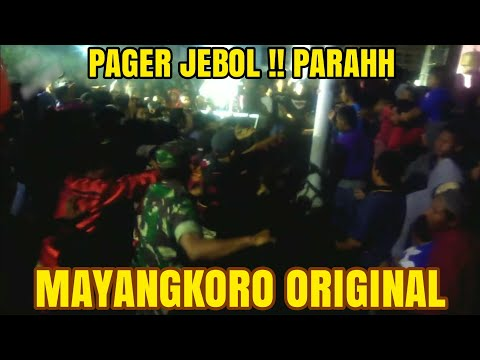 FULL TAWURANNN.. MAYANGKORO ORIGINAL  Ds Mangunrejo, Ngadiluwih