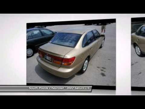 2002 Saturn LS L 100 Auto At South Pointe Chevrolet In Tulsa 2Y524403
