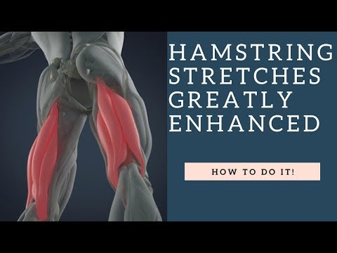 BEWARE How Your Hamstrings Can Make You Pigeon Toed Or Duck Footed | How To Stretch Them!