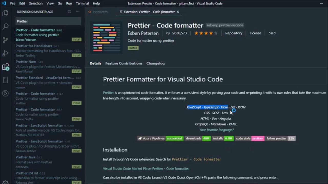 Top 15 Visual Studio Code Extensions in 2020 for Developers