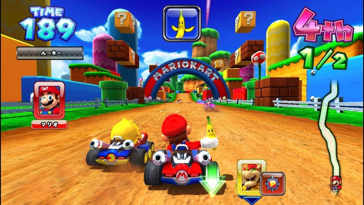 Image result for mobile mario kart