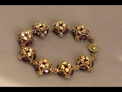 Sidonia's handmade jewelry - Little Dots Beaded Bracelet Tutorial