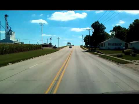 Guess I missed my turn? Lost in Marshalltown, Iowa