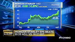 Morgan Stanley beats analysts' estimates for first quarter profit