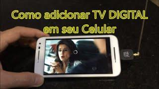 MICRO RECEPTOR DE TV DIGITAL PARA CELULAR E TABLET ANDROID