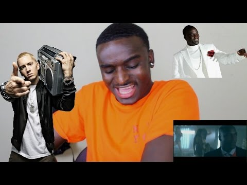 Akon - Smack That ft. Eminem REACTION!