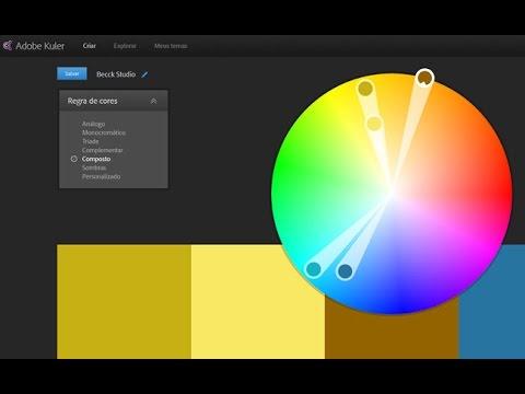 Adobe Photoshop CC 2014 - Aprenda a utilizar o Adobe Kuler