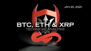 Technical Analysis of: Bitcoin, Ethereum & Ripple. Plus Market Overview and a little TradeDevils 2.0