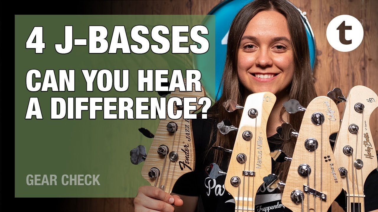 J-Bass Blindfold Quiz | Can you hear the difference? | Thomann