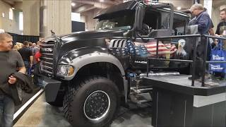 Jack Mack - pickup truck. Expocam. Montreal Trucks show. Canada.