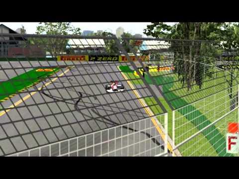 RFactor P4OW F1 Free Championship 4 Replay Hot Lap e 5Giri_ Gara Melbourne G25 400°