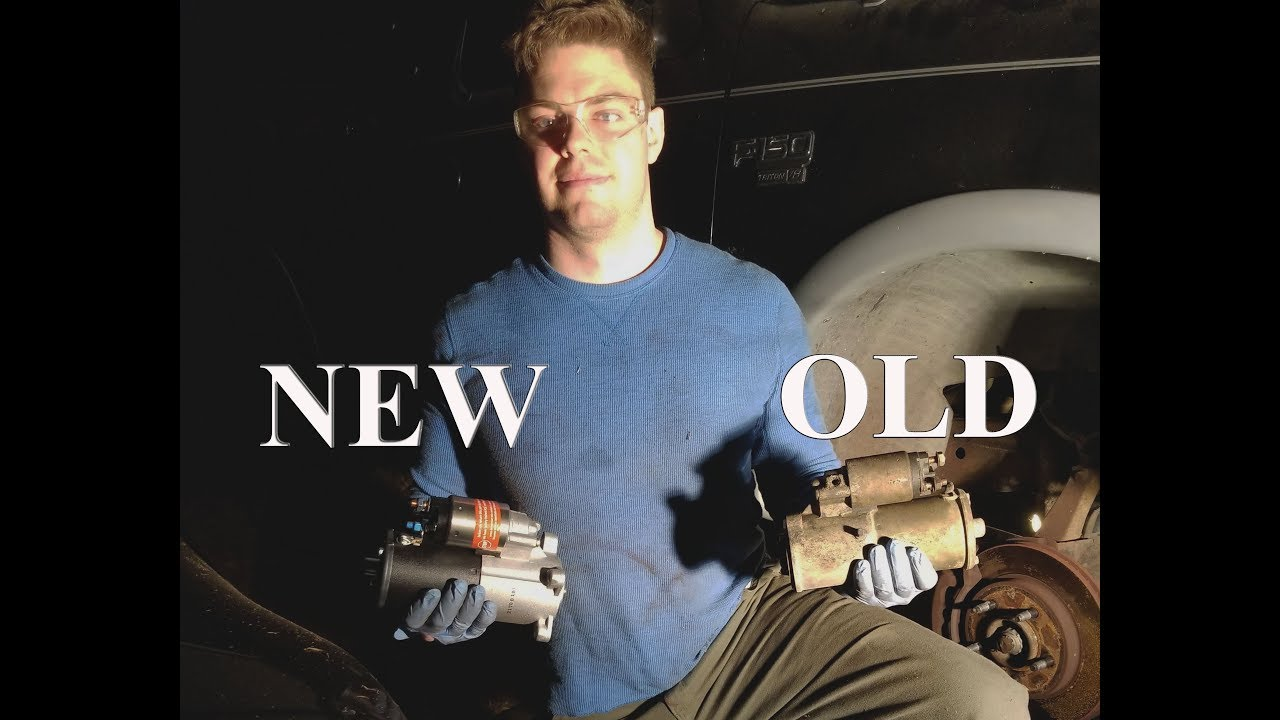 hight resolution of how to replace the starter in your ford f150 detailed installation