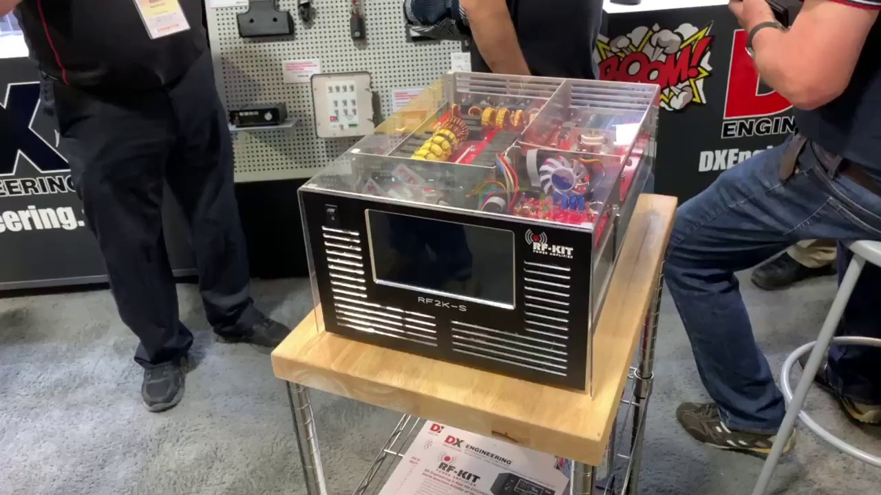 RF-KIT RF2K-S Introduced at Hamvention 2019 DX Engineering Booth