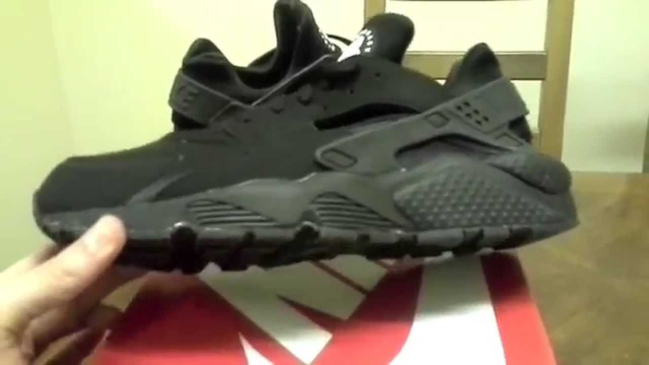02fc1b1d25b Nike Air Huarache   Black Exclusive   Bad Quality   Stitching ...