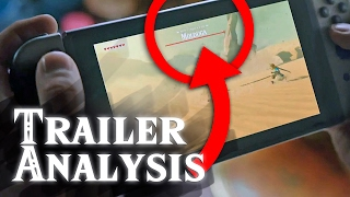 Nintendo Switch Superbowl Trailer - BotW Analysis