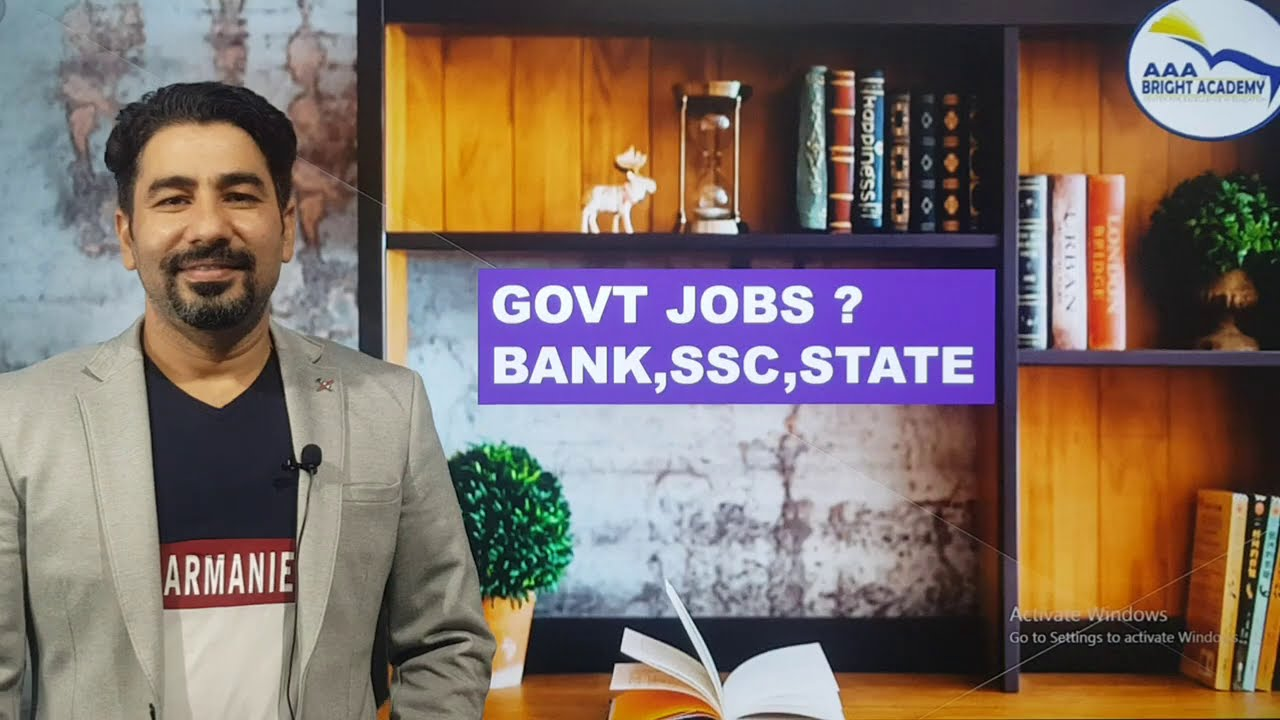 Bank PO SSC State Jobs Online Coaching : New Batches 28th Sept & 1st October AAA BRIGHT ACADEMY