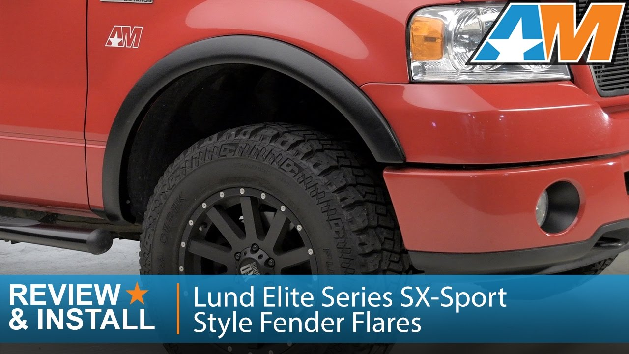 2004 2008 f 150 lund elite series sx sport style fender flares styleside review install