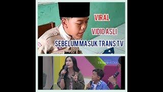 Viral masuk TV gara nyanyi lagu ini di depan Guru Video