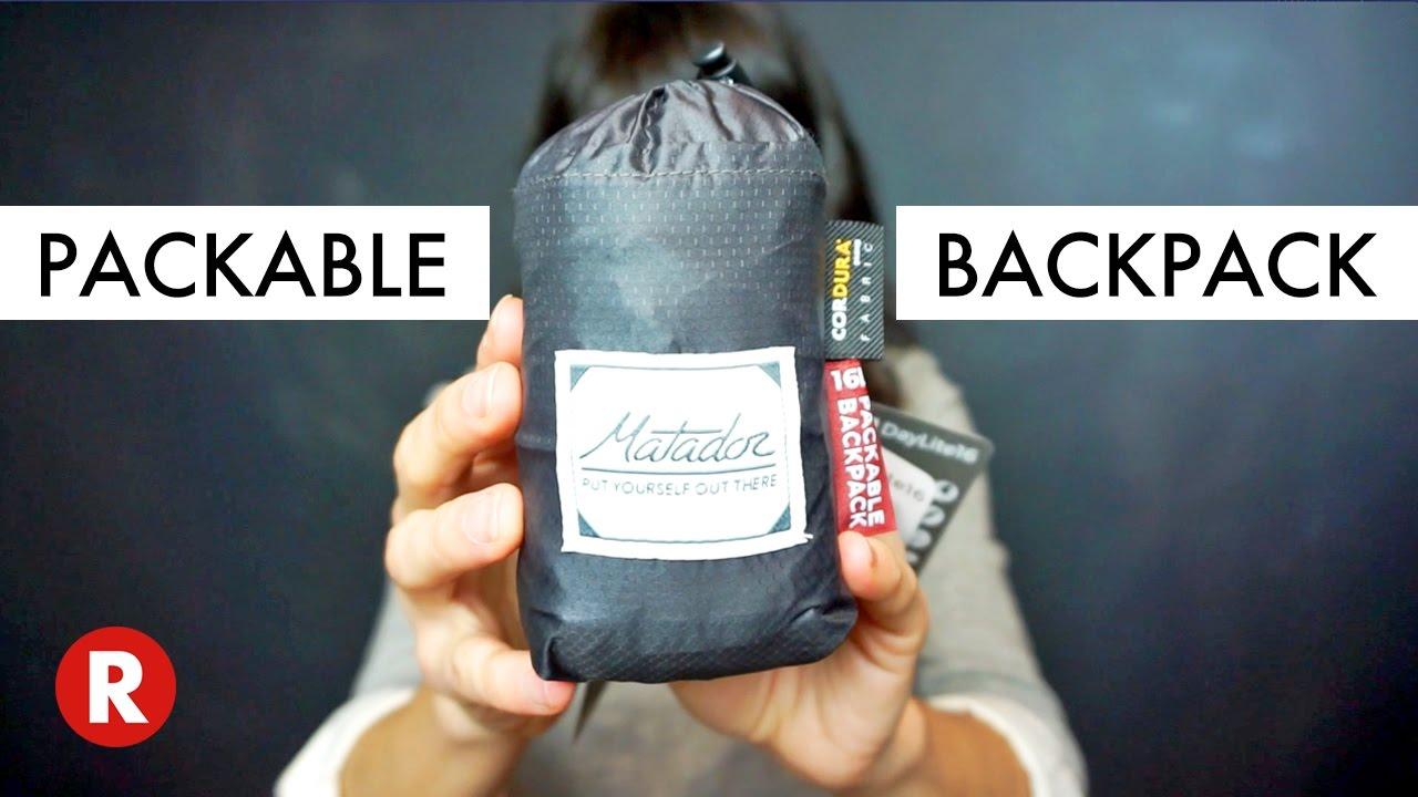 The Best Travel Backpack Matador Unboxing Youtube Flatpak Toiletry Bottle 1 Pack