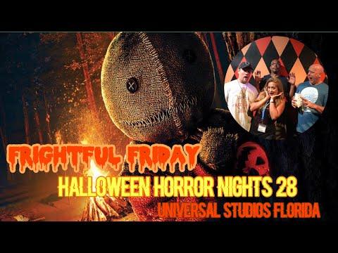 ????LIVE. Frightful Friday. Halloween Horror Nights 28. Universal Orlando Resort.