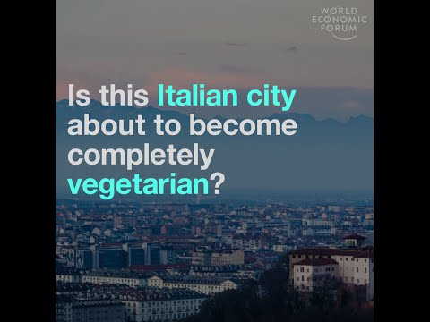 Is this italian city about to become completely vegetarian?