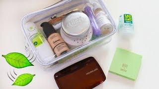 What's in my cruelty  free travel bag [Vegan]