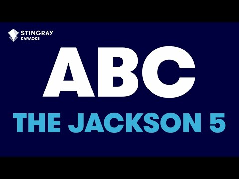 ABC in the style of The Jackson 5 karaoke video with lyrics