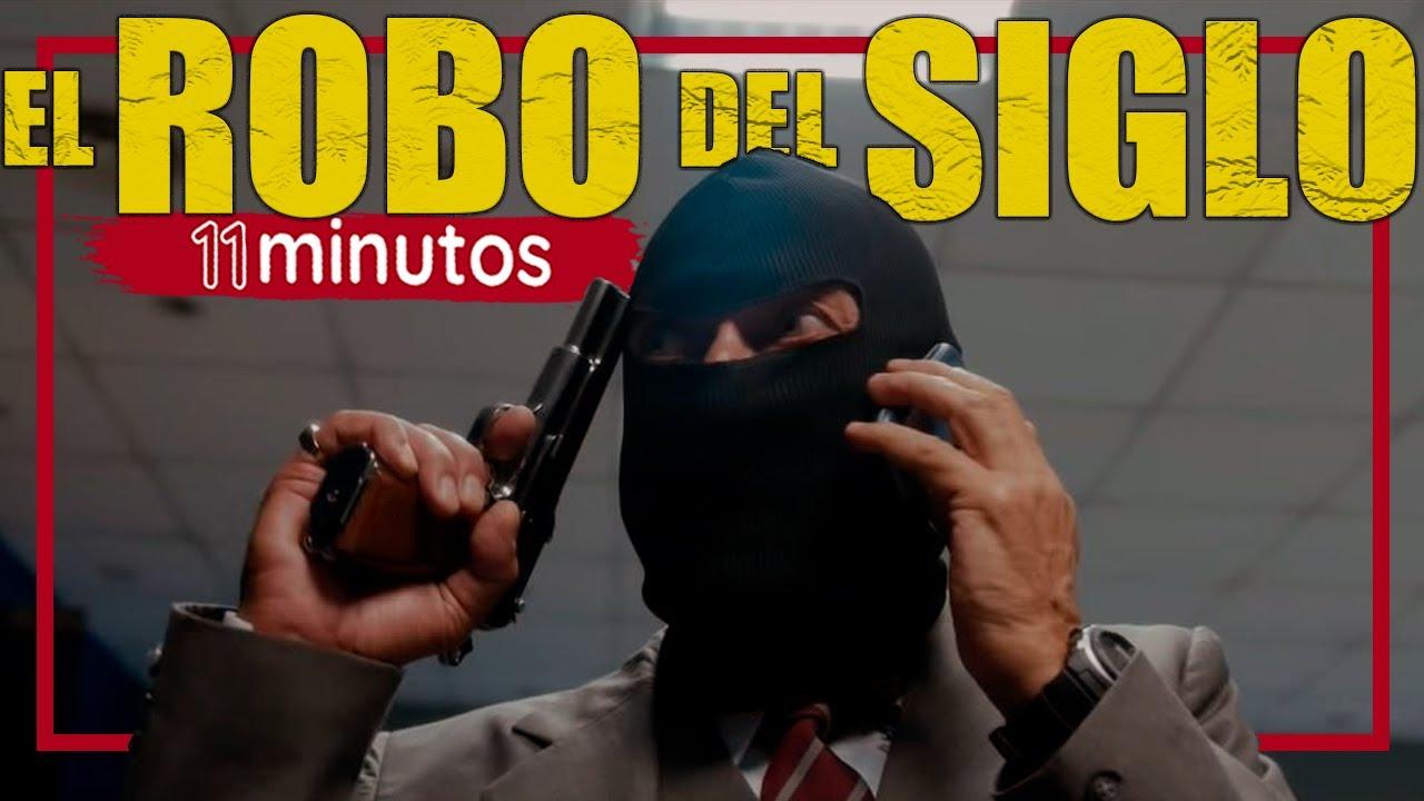 💰EL ROBO DEL SIGLO *BASADO en Hechos REALES* en ONCE MINUTOS l🔴 RESUMEN