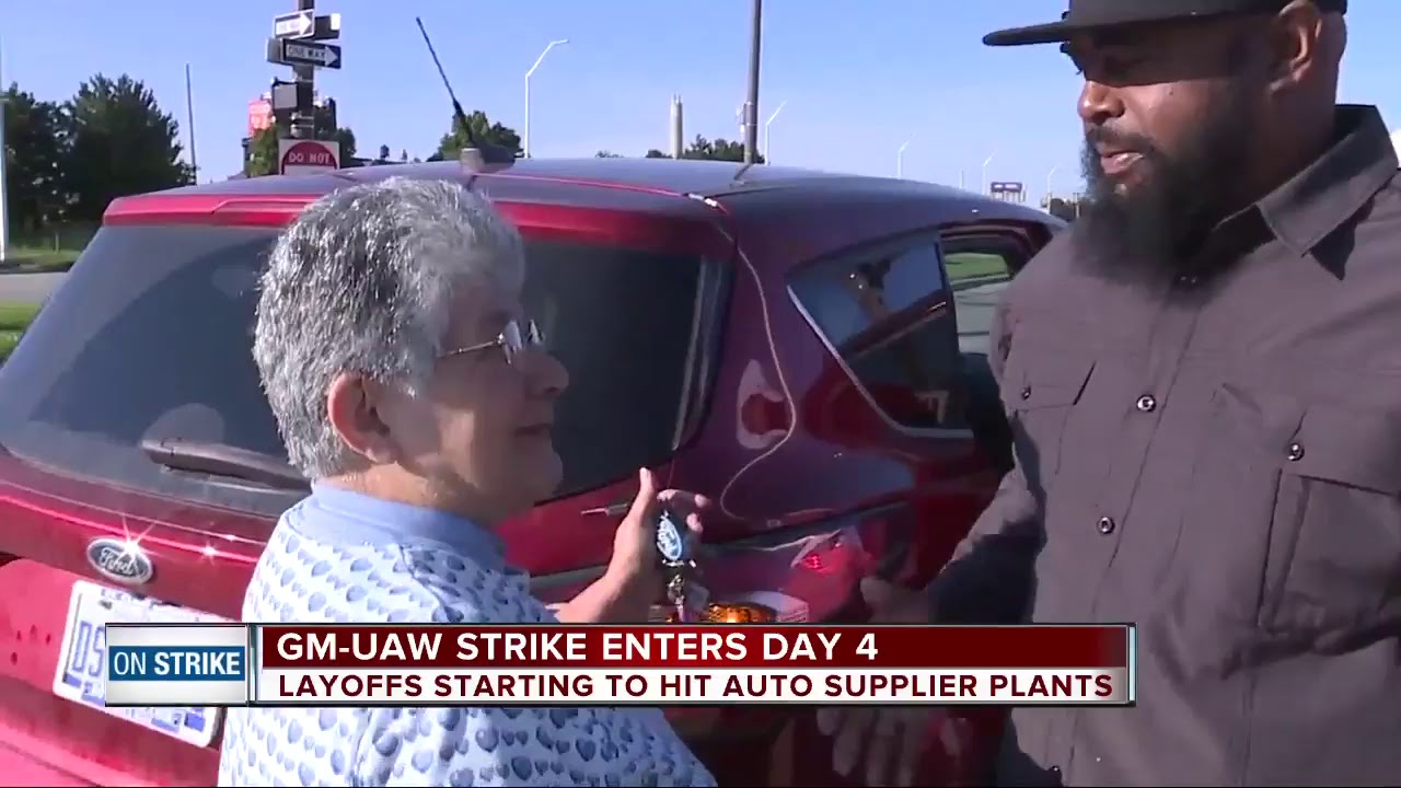 UAW strike enters day 4, layoffs starting to hit auto supplier plants