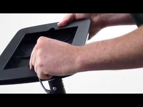 How To Assemble A Launchpad Tablet Floor Stand | Discount Displays