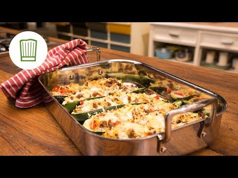 Rezept zucchini gehacktes uberbacken
