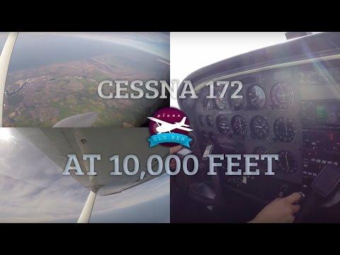 Cessna 172 At 10,000 Feet! | ATC Audio