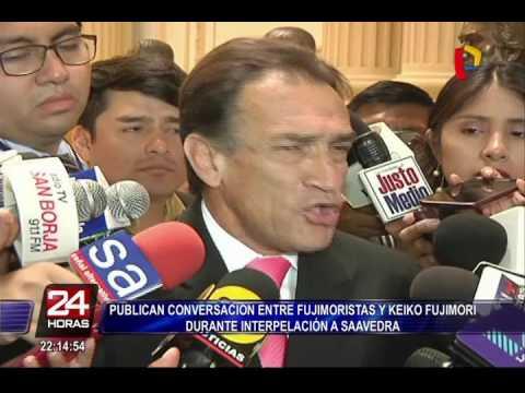 Reacciones tras polémico chat de fujimoristas durante interpelación a Jaime Saavedra