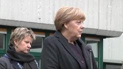 Bundeskanzlerin Angela Merkel in Haltern am See